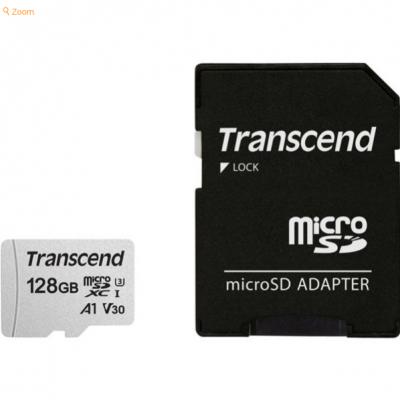 Transcend microSDXC 300S-A  Class 10 UHS-I U1